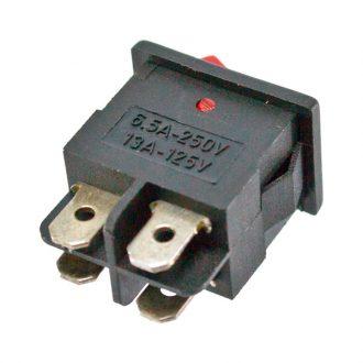 Comutador com sinalizador 230V