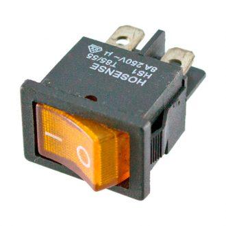 Comutador com sinalizador Laranja 230V