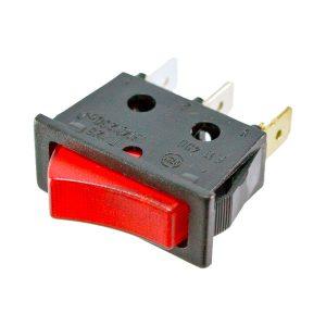 Interruptor com Sinalizador Vermelho 230V