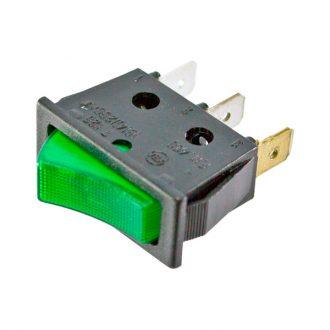 Interruptor com Sinalizador Verde