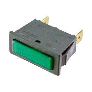 Sinalizador com sinalizador Verde