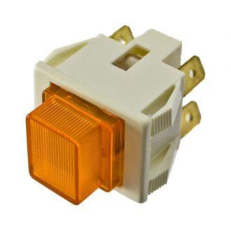 Interruptor com Sinalizador  Laranja