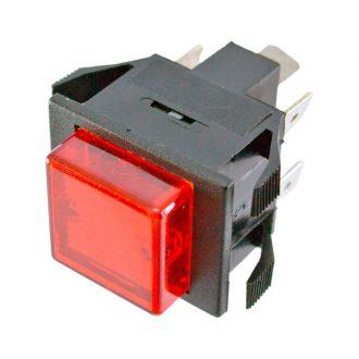 Interruptor com Sinalizador  Vermelho