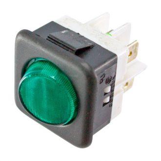 Interruprot com sinalizador Verde 230V