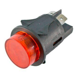 Pulsador  Vermelho 230V