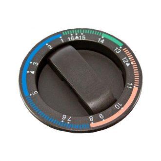 Botão do timer Castanho
