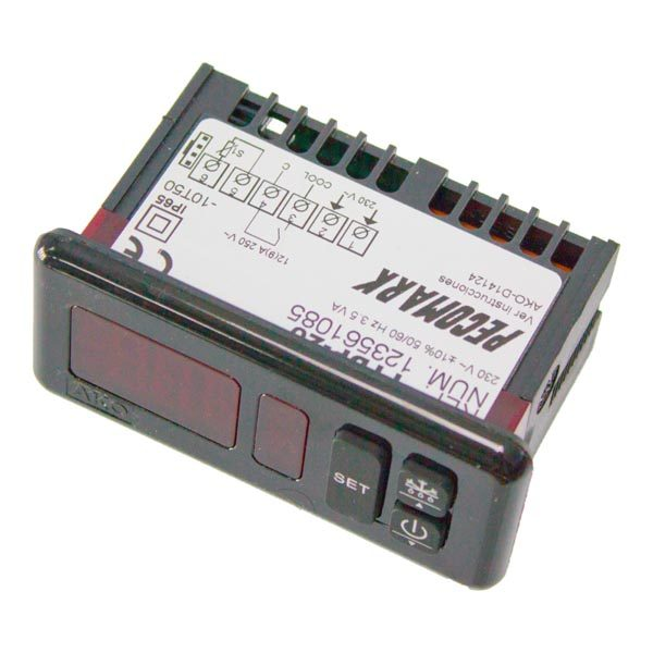 Termostato Digital AKO TTDP-20 p/ 1 sonda  230V