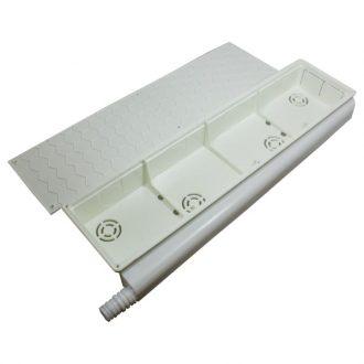 Caixa de pre-instalacao A/C Saída 180º