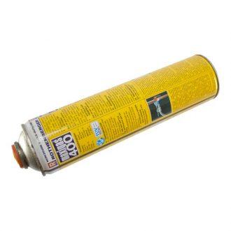 Recarga de propano Maxi-Gás 400 Baixo rendimento