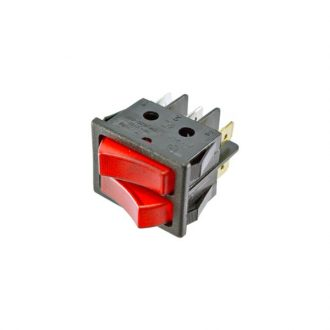 Interruptor duplo Luminoso p/ Irradiador