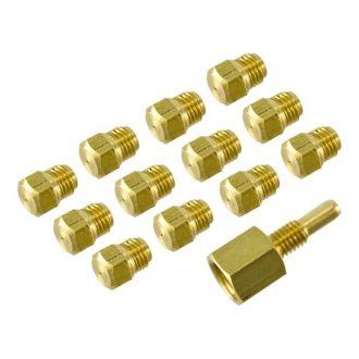 Kit Injetores do Queimador p/ Esquentador de 10L p/ p/ Gás Butano