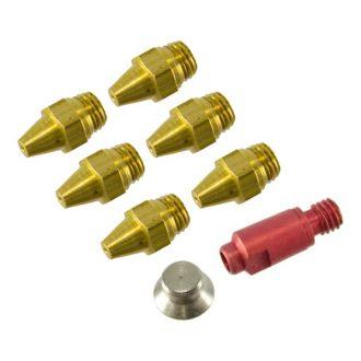Kit Injetores do Queimador p/ Esquentador de 5L p/ p/ Gás Butano