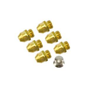 Kit Injetores do Queimador p/ Esquentador de 5L p/ Gás Butano