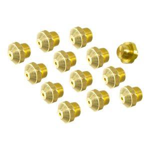 Kit Injetores do Queimador p/ Esquentador de 10L p/ Gás Butano