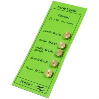 Kit de Injetores para Gás Natural 5uni