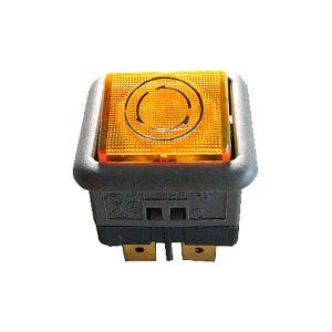 Pulsador CM/1 Laranja 230V