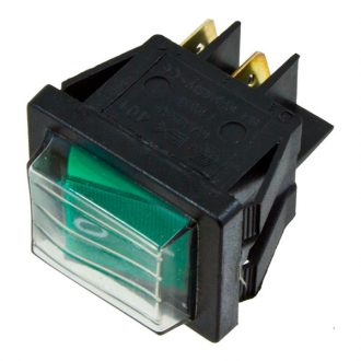 Interruptor Verde Bipolar  230V