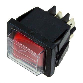 Interruptor Vermelho Bipolar  230V