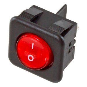 Interruptor Vermelho  230V