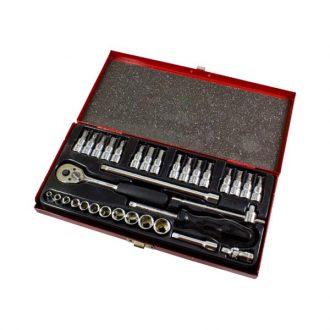 Jogo de chaves de caixa - 33 peças