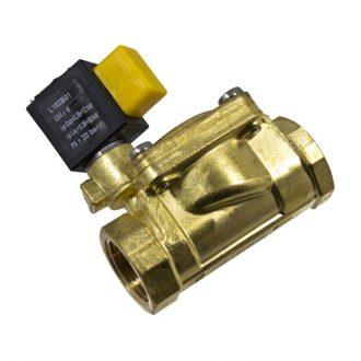 Electroválvula simples 3/4 FF Temp. Max. 120ºC 24V DC