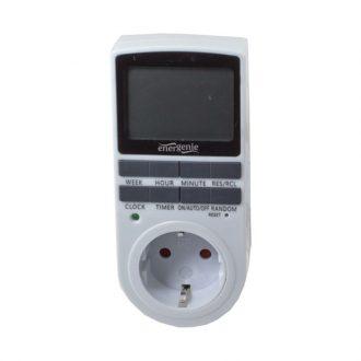 Temporizador programável Digital p/ tomadas 230V / 3500W