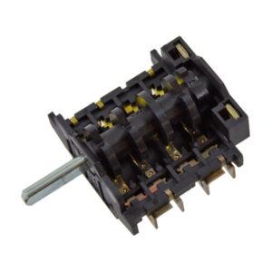 Comutador/Seletor 0-1-2 posições 4032/1A p/ forno
