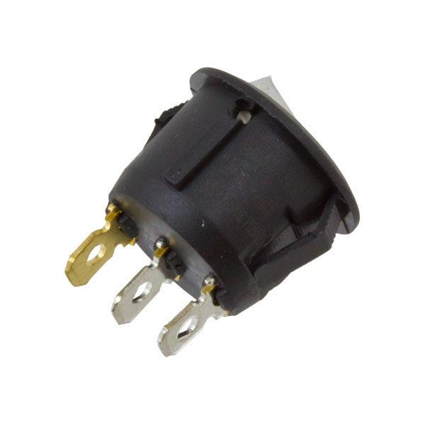 Interruptor ON/Off Redondo Branco