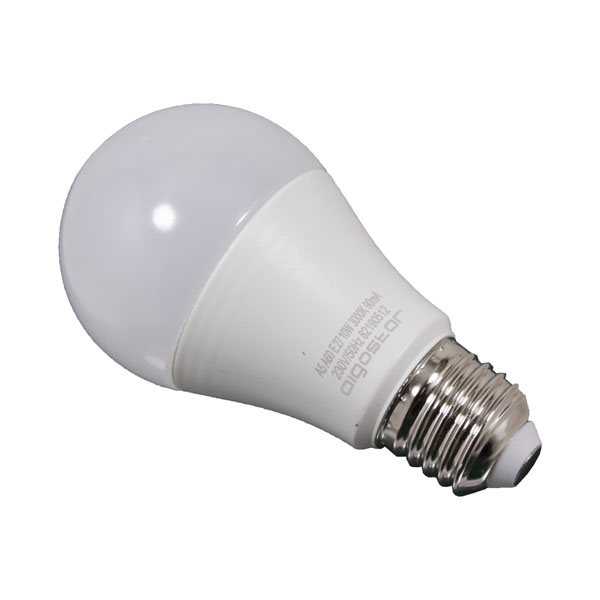 Lâmpada Led  Branco Quente E27 de 230V 10W