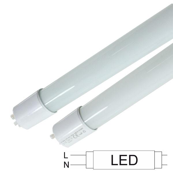 Lâmpada LED Tube 6400K T8   de 230V 18W