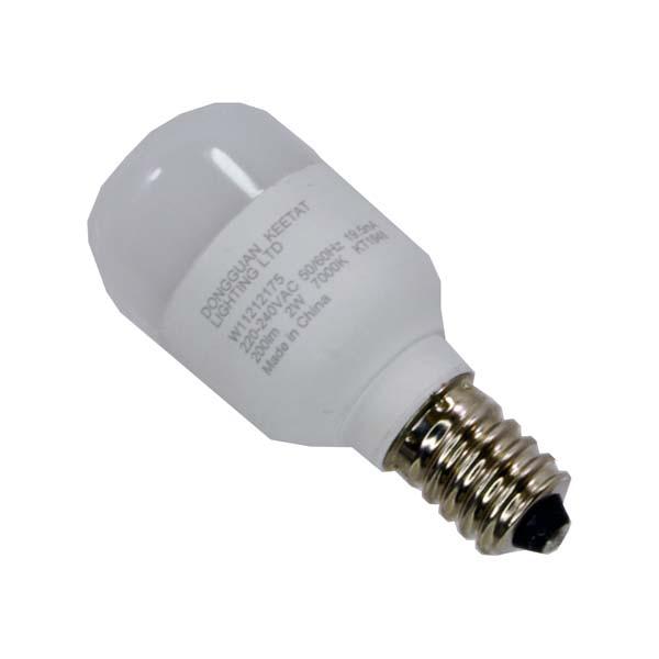 Lâmpada LED Branco Frio p/ Frigorifico tipo americano  de 240V 1.4W
