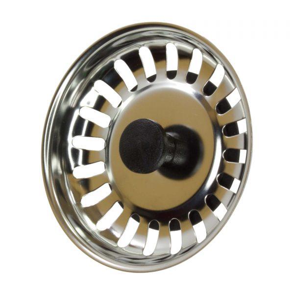Valvula  de Lava-louças de Inox 92 mm Eixo  35x65x22mm p/ Cozinha
