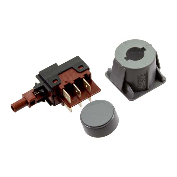 Interruptor  Bipolar  ON/OFF Completo 6 Termiais 28x28 mm